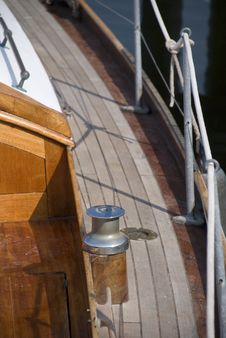 Free Wooden Boat Detail Royalty Free Stock Image - 5600286