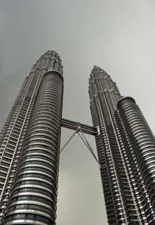 Free Kuala Lumpur Twin Towers Royalty Free Stock Images - 5600799