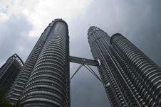 Free Kuala Lumpur Twin Towers Royalty Free Stock Photo - 5600875
