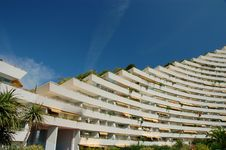 Free Marina Baie Des Anges - Apartments Royalty Free Stock Photo - 5601105