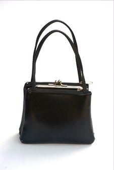 Little Black Bag Royalty Free Stock Photos