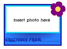 Free Greetings From Royalty Free Stock Photography - 5602497