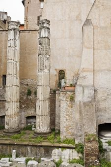 Free Columns Of Ancient Rome Stock Images - 5602844