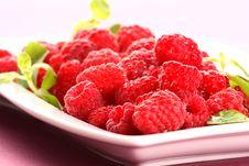 Free Raspberries Royalty Free Stock Image - 5603116