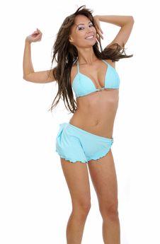 Free Sexy Woman In Bikini Royalty Free Stock Photography - 5604007