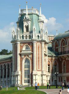 Free Tsaritsino The Big Palace An Angular Tower Stock Photo - 5604890