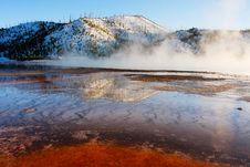 Free Grand Prismatic Springs Royalty Free Stock Photo - 5605005
