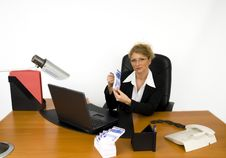 Free Boss At Work. Stock Photography - 5605392
