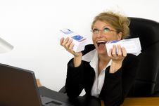Free Boss At Work. Royalty Free Stock Image - 5605416