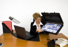 Free Boss At Work. Stock Image - 5605461