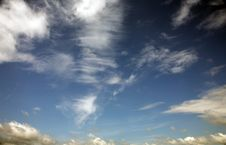 Free Sky And Clouds Royalty Free Stock Photography - 5605877