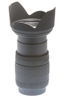 Free SLR Camera Lens Royalty Free Stock Photo - 5605935