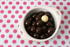 Free Chocolate Balls Stock Photography - 5606102