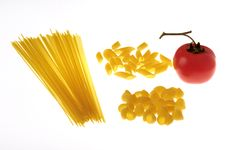 Free Pasta And Tomato Stock Image - 5606141