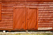 Free Barn Doors Not Open. Stock Photo - 5606590