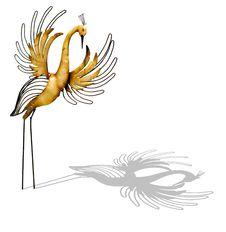 Free Decorative Handmade Bird Royalty Free Stock Photography - 5606957