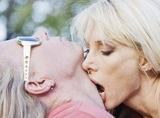 Free Rock And Roll Couple Royalty Free Stock Photography - 5607087