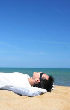 Free Tropical Beach Royalty Free Stock Photo - 5607115