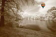 Free The Infrared Dreamy Scenery Royalty Free Stock Image - 5607436