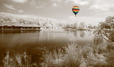 Free The Infrared Dreamy Scenery Stock Photography - 5607452