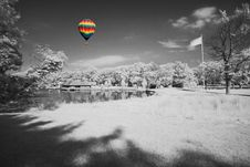 Free The Infrared Dreamy Scenery Royalty Free Stock Images - 5607489