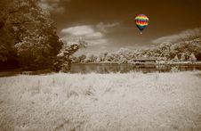 Free The Infrared Dreamy Scenery Royalty Free Stock Photo - 5607495