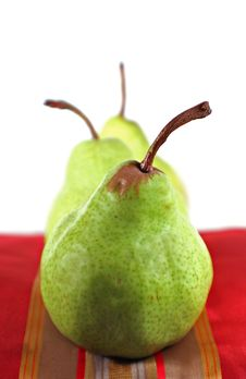 Free Pears Royalty Free Stock Image - 5607716