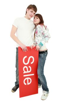 Free Boyfriend Ans Sale Royalty Free Stock Photo - 5607855