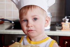 Free Infant Cook Stock Images - 5607894
