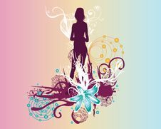 Free Female Silhouette Stock Images - 5608244