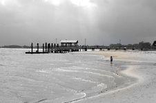 Free Walking On The Beach Stock Photo - 5608450