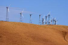 Free Wind-driven Generators Stock Photography - 5608892