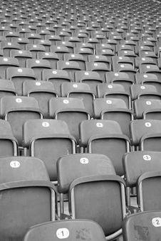 Free Empty Seats Royalty Free Stock Photography - 5608957