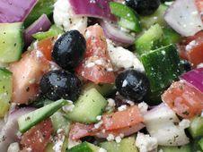 Free Greek Salad Royalty Free Stock Photography - 5609177