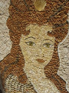 Free Mosaic Portrait Royalty Free Stock Images - 56042919