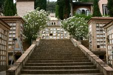 Free Cemetery Stairway Stock Photography - 5610992