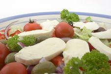 Free Mozzerella Salad Royalty Free Stock Photography - 5611247