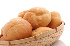 Free Fresh Baked Rolls Royalty Free Stock Image - 5613016