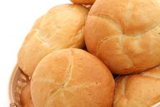 Free Fresh Baked Rolls Stock Photography - 5613042