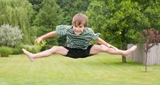 Free Boy Jumping Royalty Free Stock Photos - 5613108