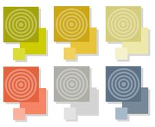 Free Bullseye Tiles Squares Royalty Free Stock Photos - 5613158