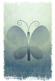 Free Rustic Butterfly Background Royalty Free Stock Images - 5613179