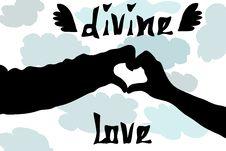 Free Divine Love Stock Image - 5613281