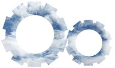 Free Company Logo - Sky Mechanism Gear-Driven Wheels Stock Photos - 5613283