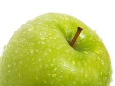 Free Green Apple Closeup Stock Image - 5613371