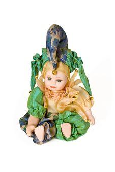 Free Venetian Doll Royalty Free Stock Image - 5613536