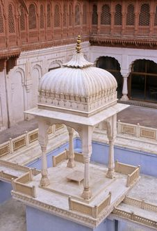 Free Bikaner Palace Stock Image - 5613611