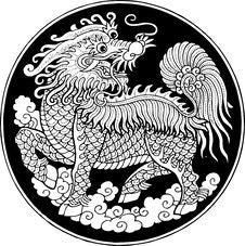 Myth Dragon Stock Photo