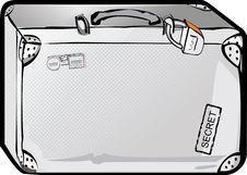 Free Metal Suitcase Royalty Free Stock Image - 5614046