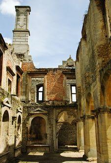Abandoned Manor Stock Image